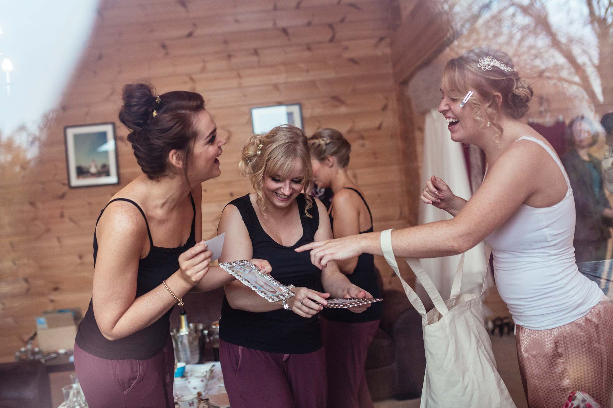 Styal Lodge Fun Wedding Photography