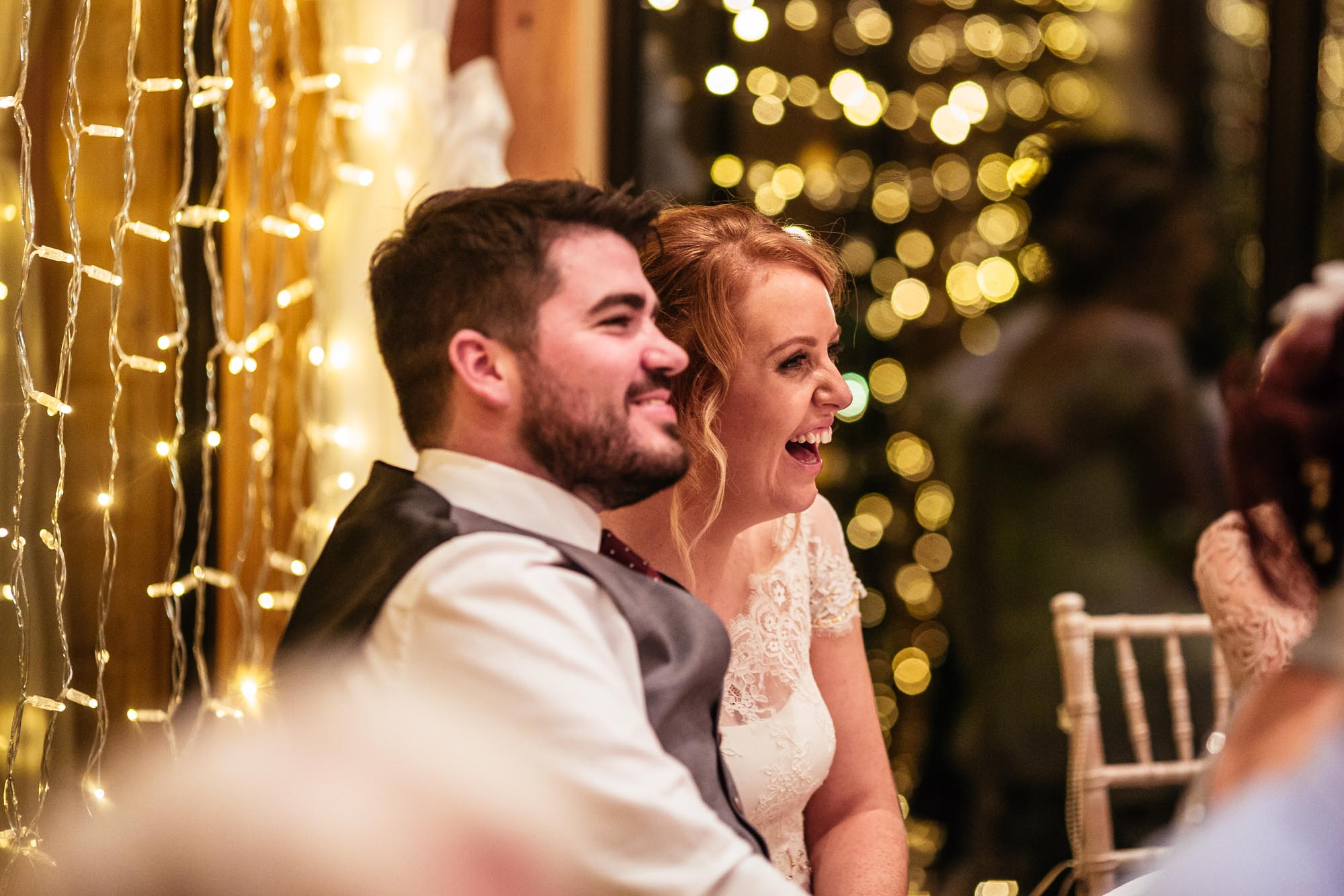 Styal Lodge Wedding Speeches Photos