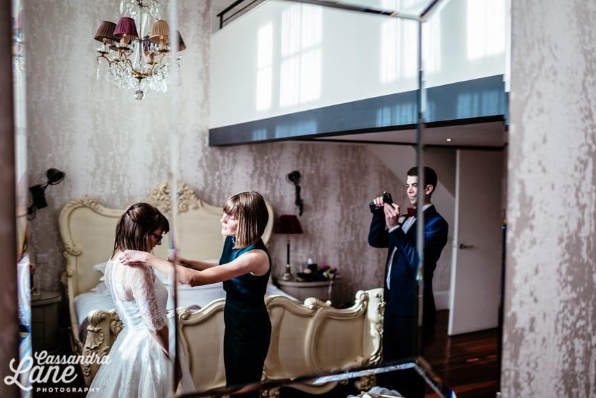 Retro Wedding Photographer Manchester