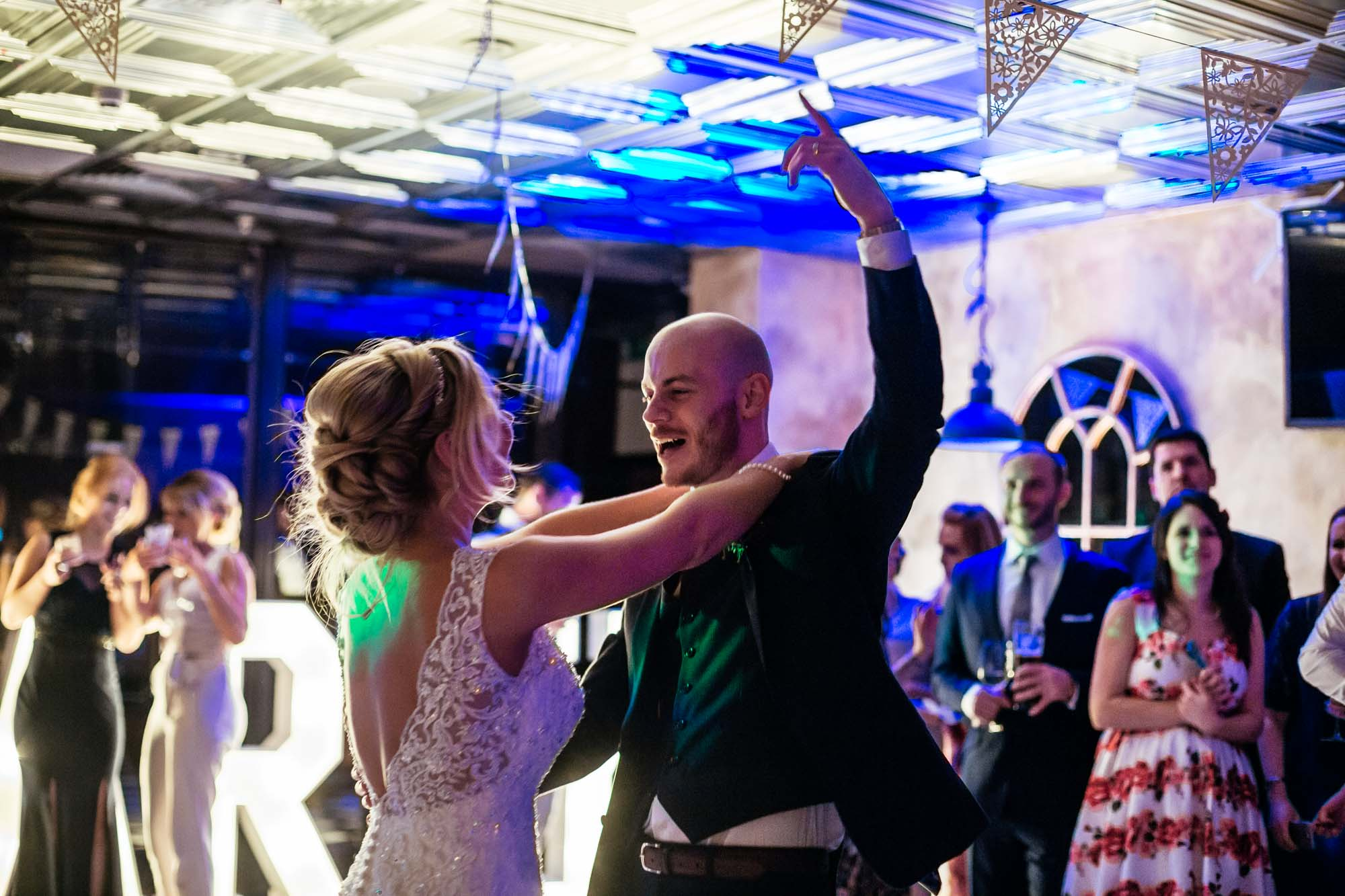 Wedding Reception Dancing On the 7th Media City