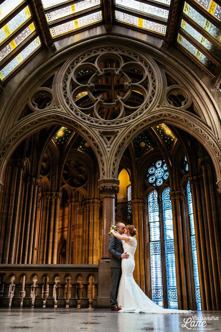Spring Wedding at Manchester Town Hall-11