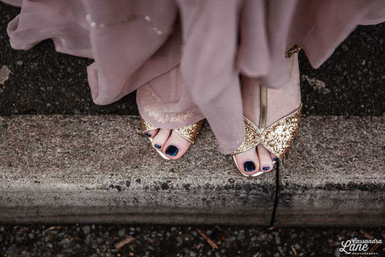 Seychelles Glitter Wedding Shoes