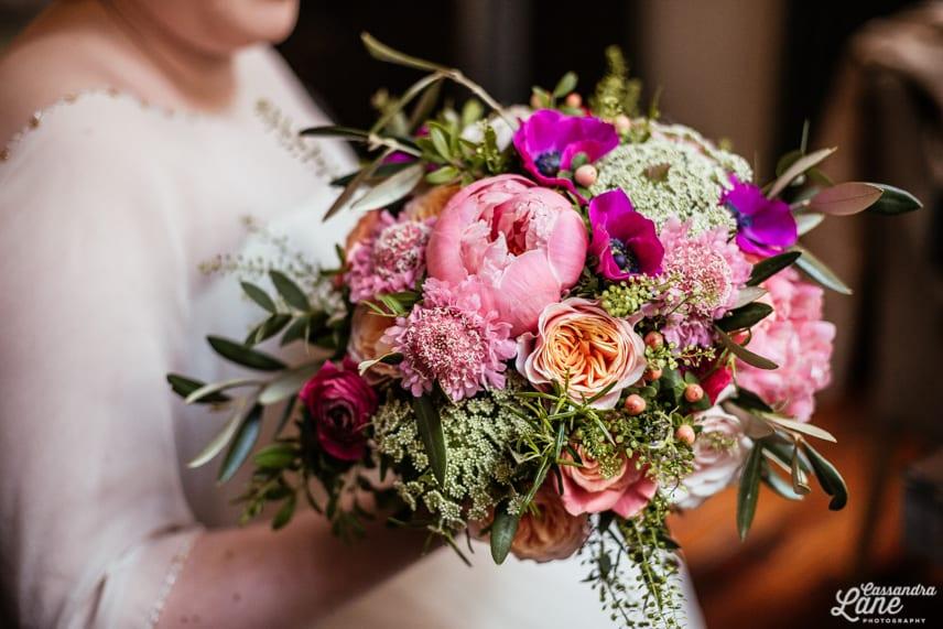 Frog Flowers Wedding Bouquet