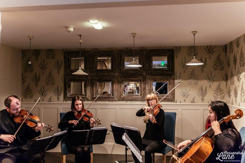 String Quartet Great John St Hotell
