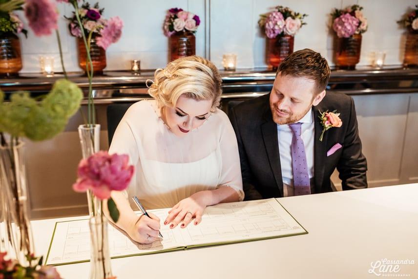 Great John St Hotel Manchester Wedding Ceremony