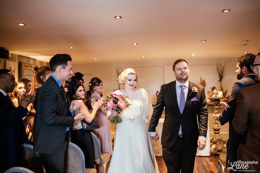 Great John St Hotel Wedding Ceremony