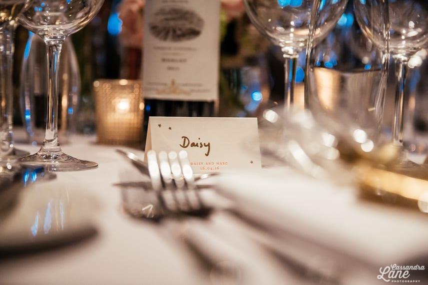 Wedding Reception at Great John St Manchester