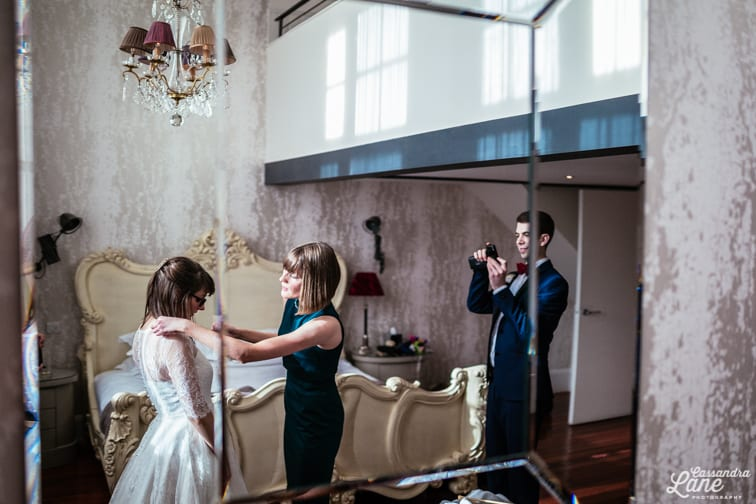 Great John St Hotel Manchester Wedding Photographer
