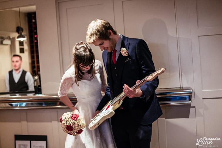 Alternative Wedding Photographer Great John St Hotel Manchester-58
