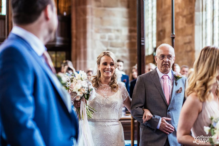 Wedding Photographer St James the Great Gawsworth Cheshire