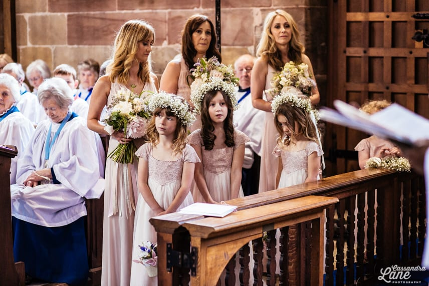 Wedding Ceremony St James the Great Gawsworth Cheshire