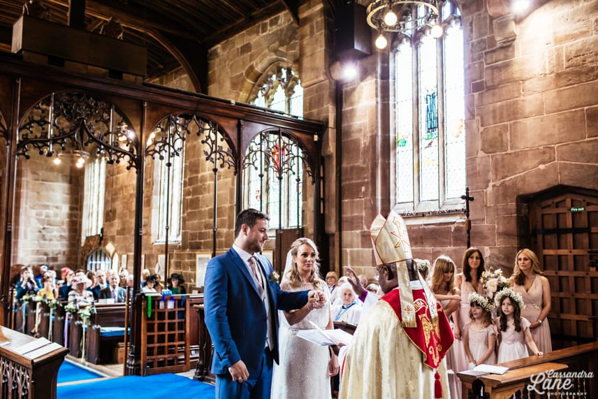 Weddings St James the Great Gawsworth Cheshire