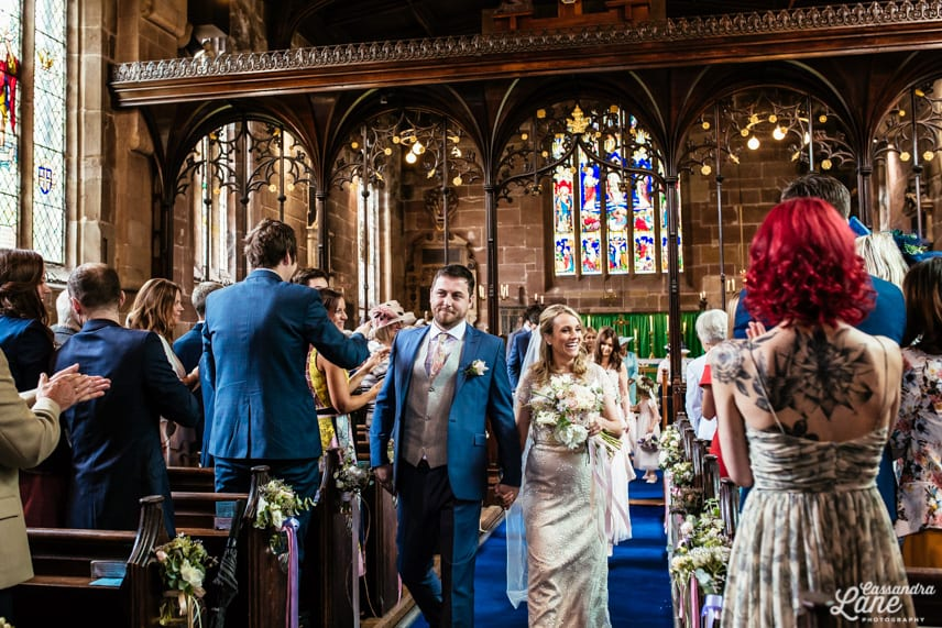 St James the Great Gawsworth Cheshire Wedding