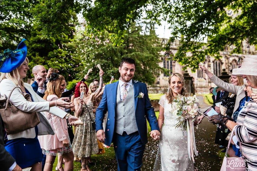 St James the Great Church Gawsworth Confetti