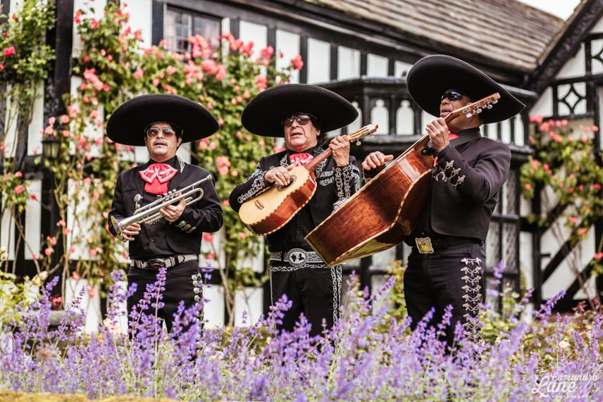 Mariachi Band at a Wedding