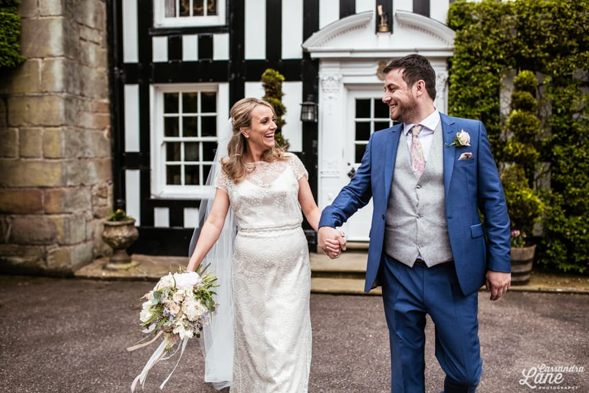 Alternative Wedding Photography Gawsworth Hall Cheshire