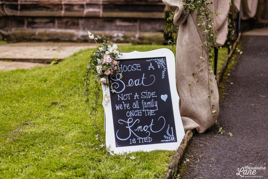 Gawsworth Church Wedding Photographer