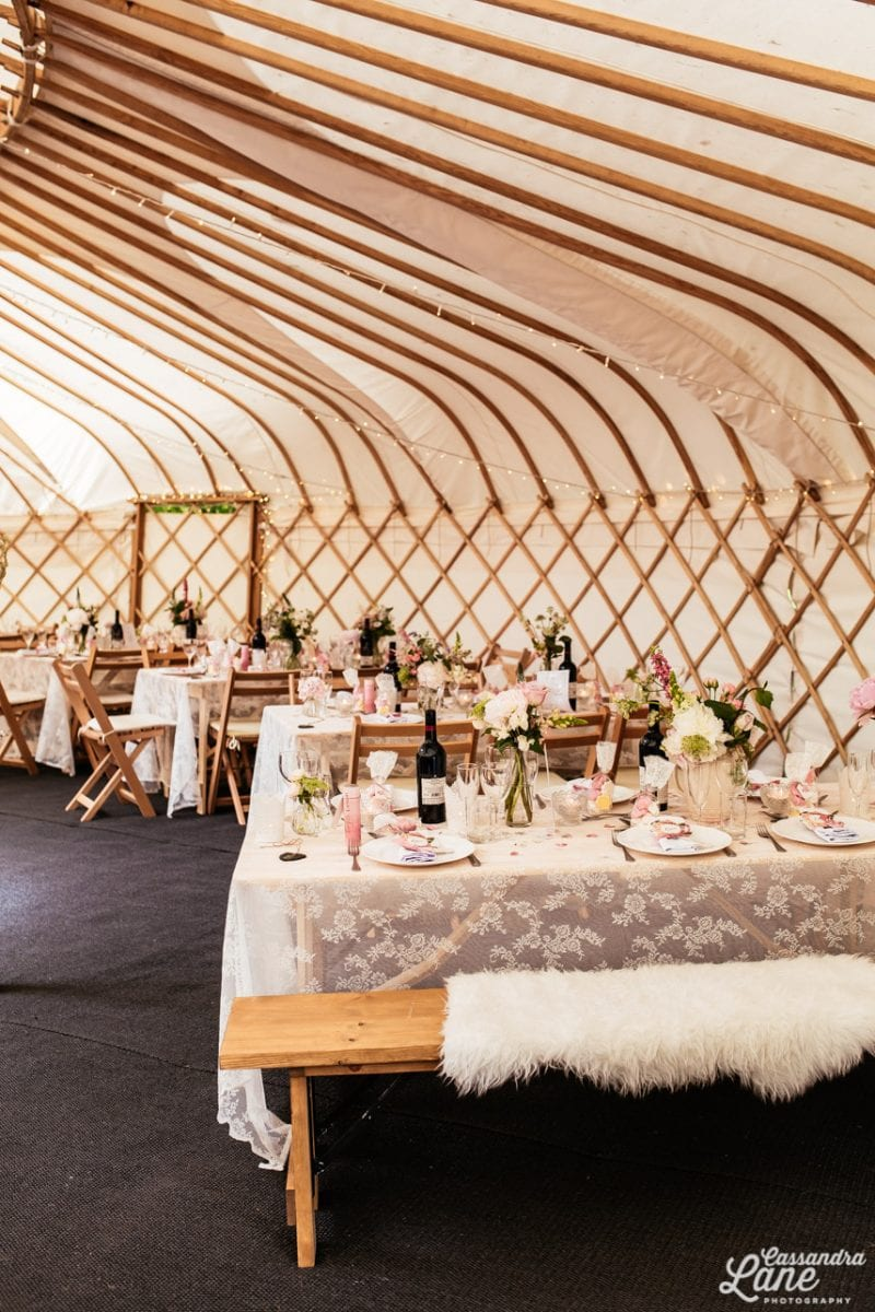 Wedding Yurt Gawsworth Hall