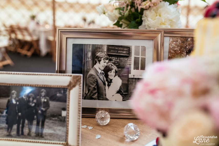 Vintage Wedding Gawsworth Hall