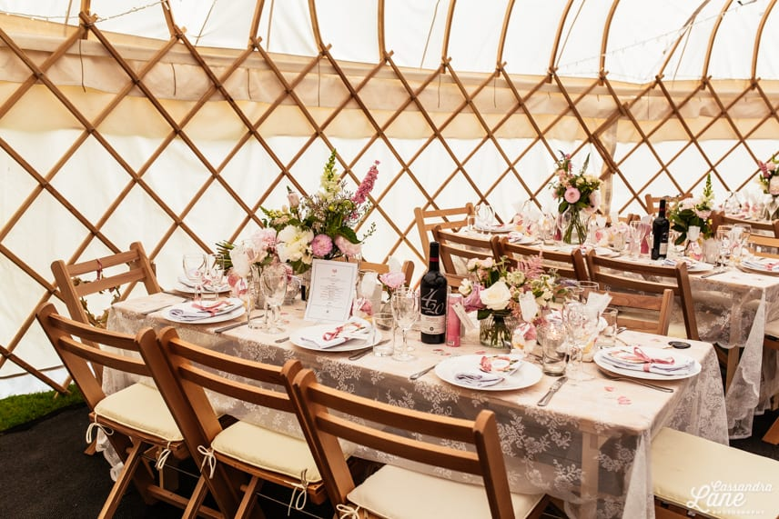 Wedding Yurts Gawsworth Hall