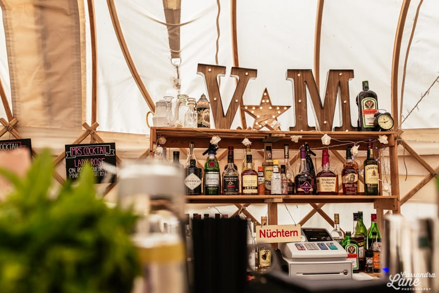 Four Guys Mobile Bar at Gawsworth Hall Yurt