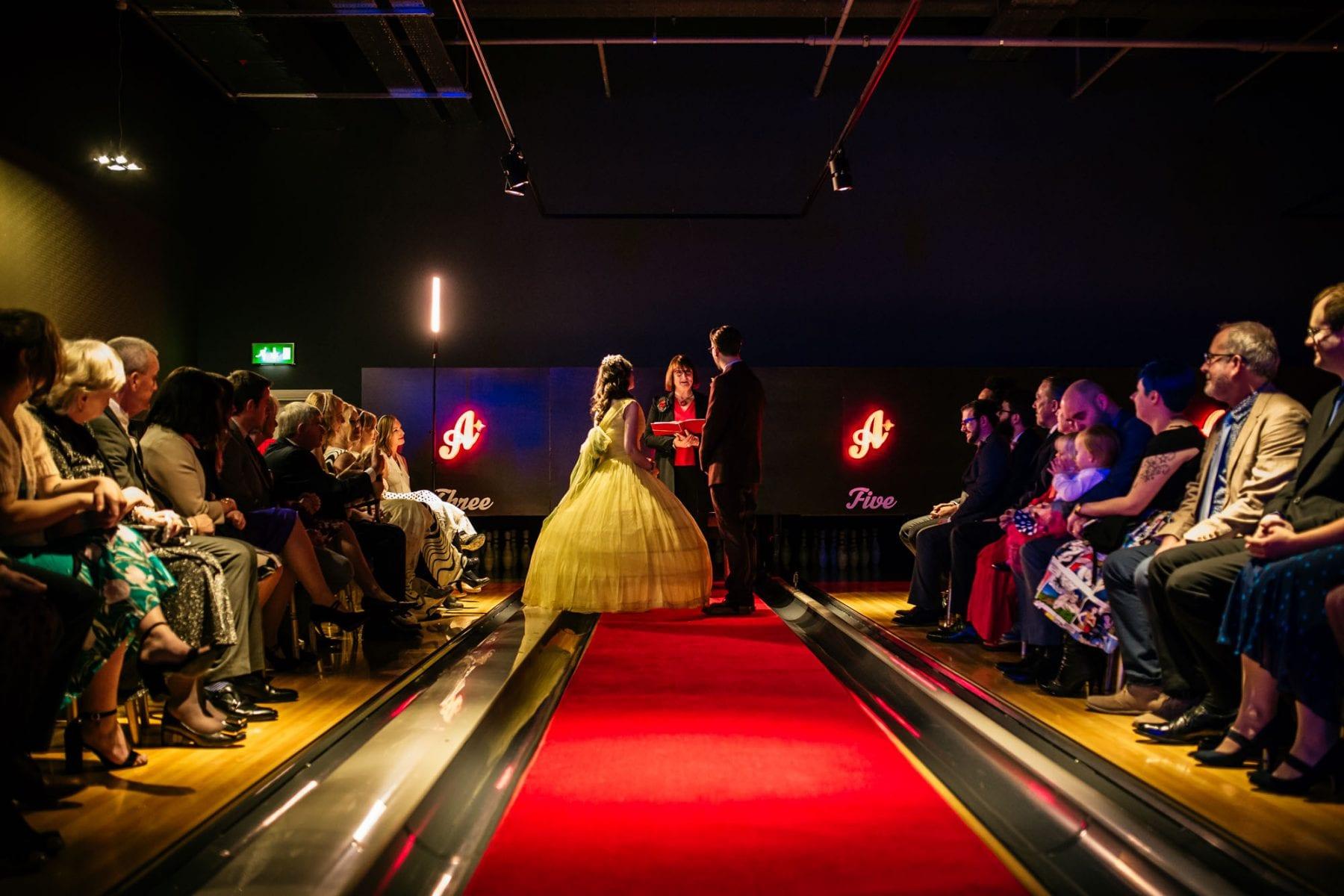 Wedding Photographer All Star Lanes Manchester