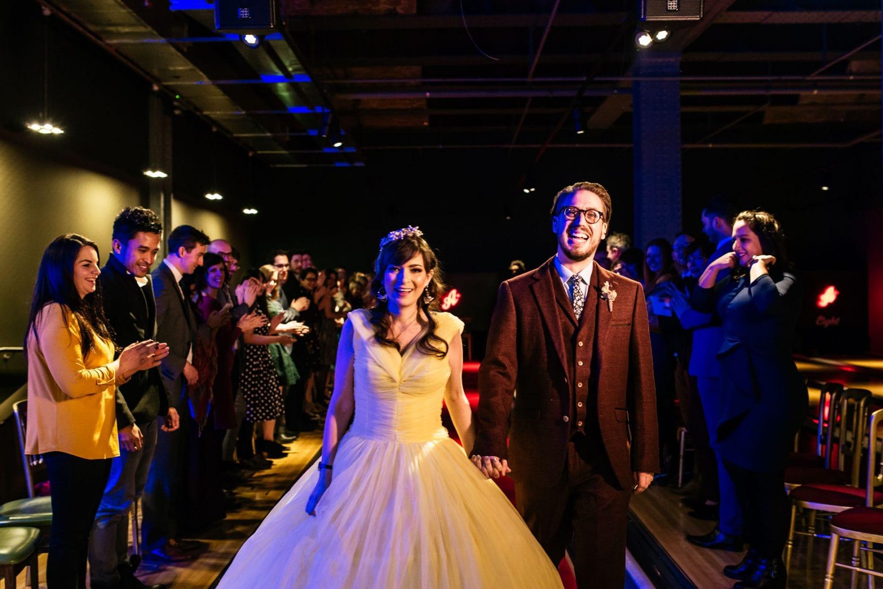 Wedding Ceremony All Star Lanes Manchester