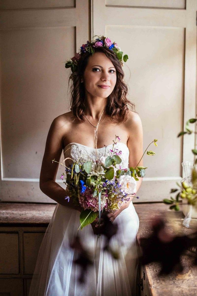 Alternative Wedding Photography Plas Dinam Wales