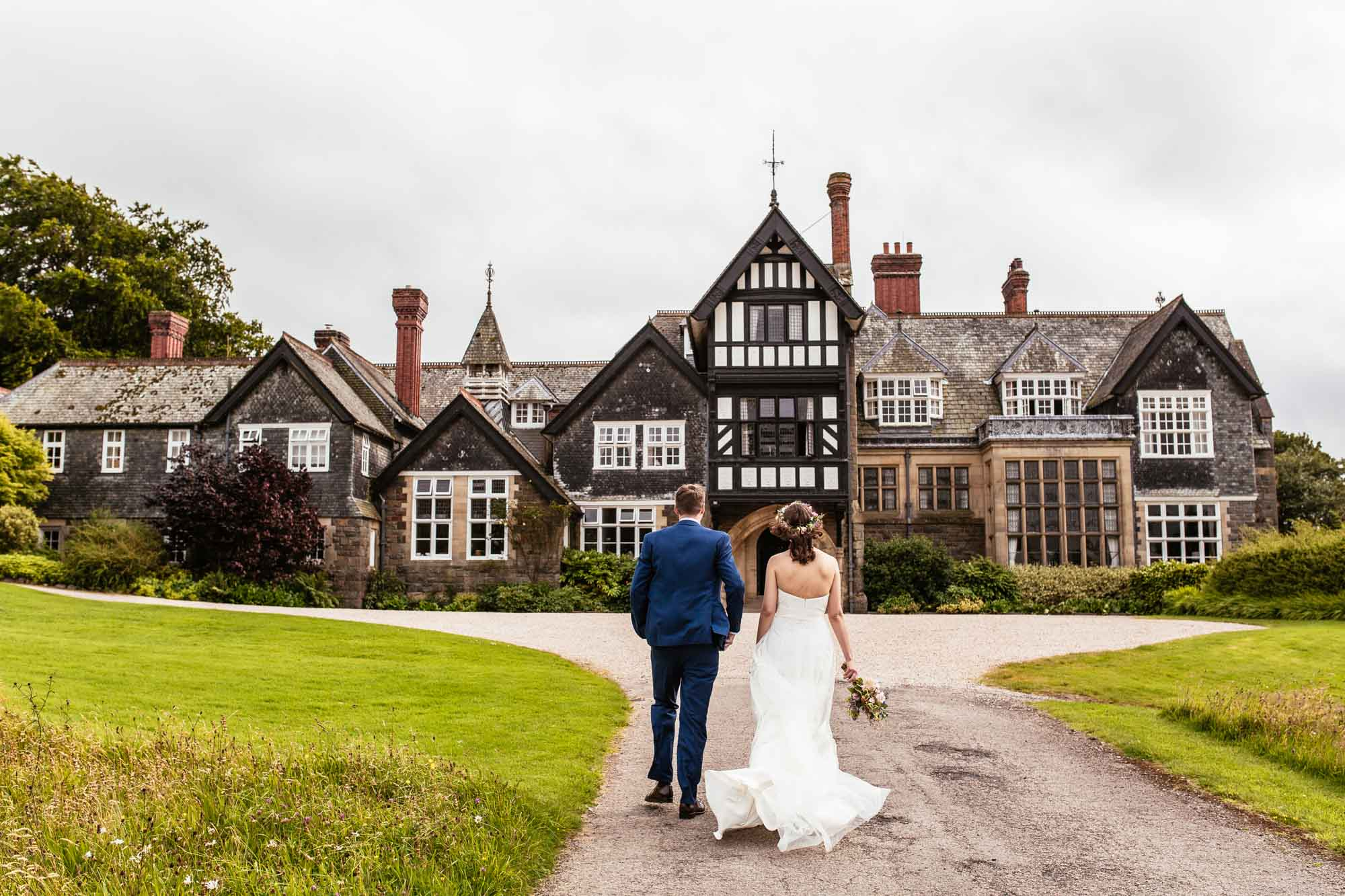 Plas Dinam Wales Vintage Wedding Photographer