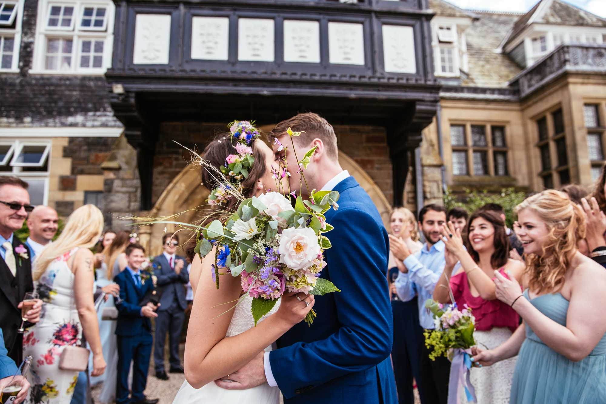 Plas Dinam Wales Wedding Confetti