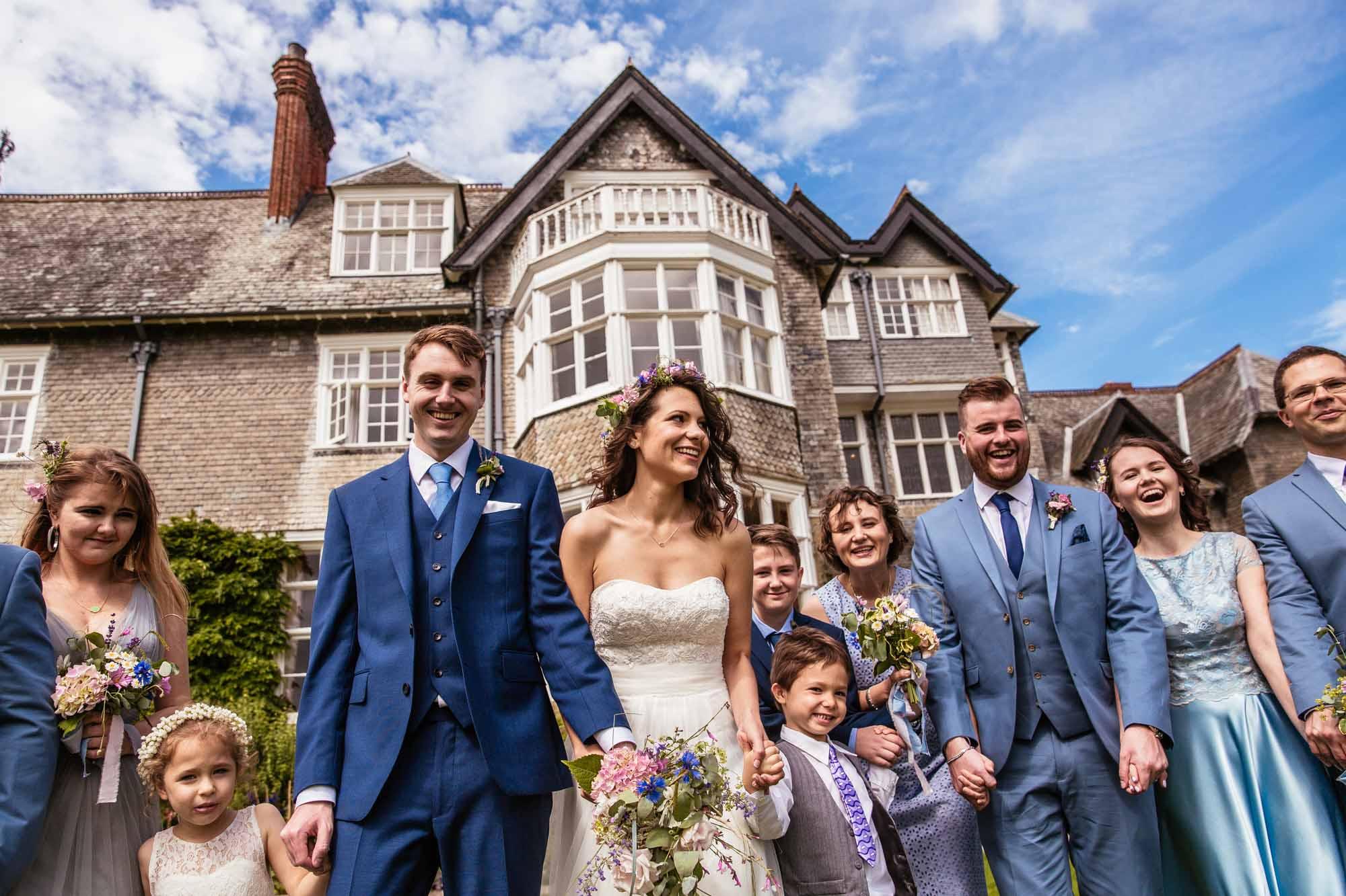 Quirky Wedding Photographer Plas Dinam Wales