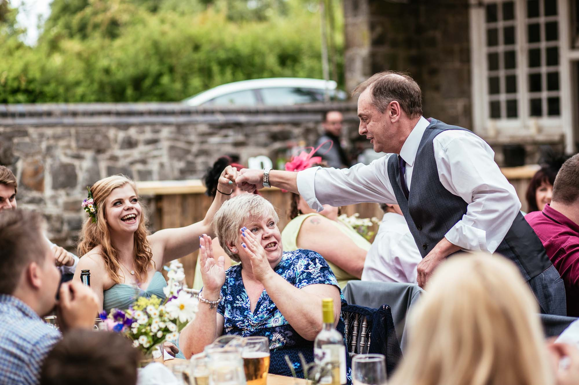 Quirky Wedding at Plas Dinam Country House Mid Wales