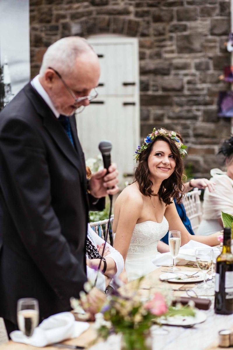 Wedding Reception at Plas Dinam Mid Wales