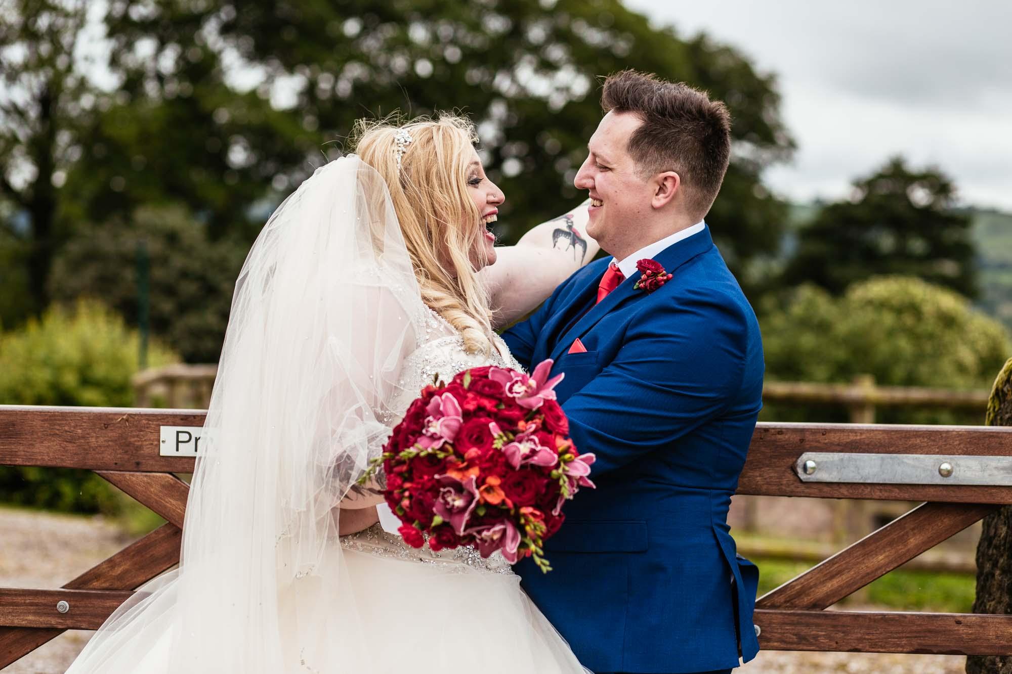 Creative Wedding Photographer Heaton House Farm