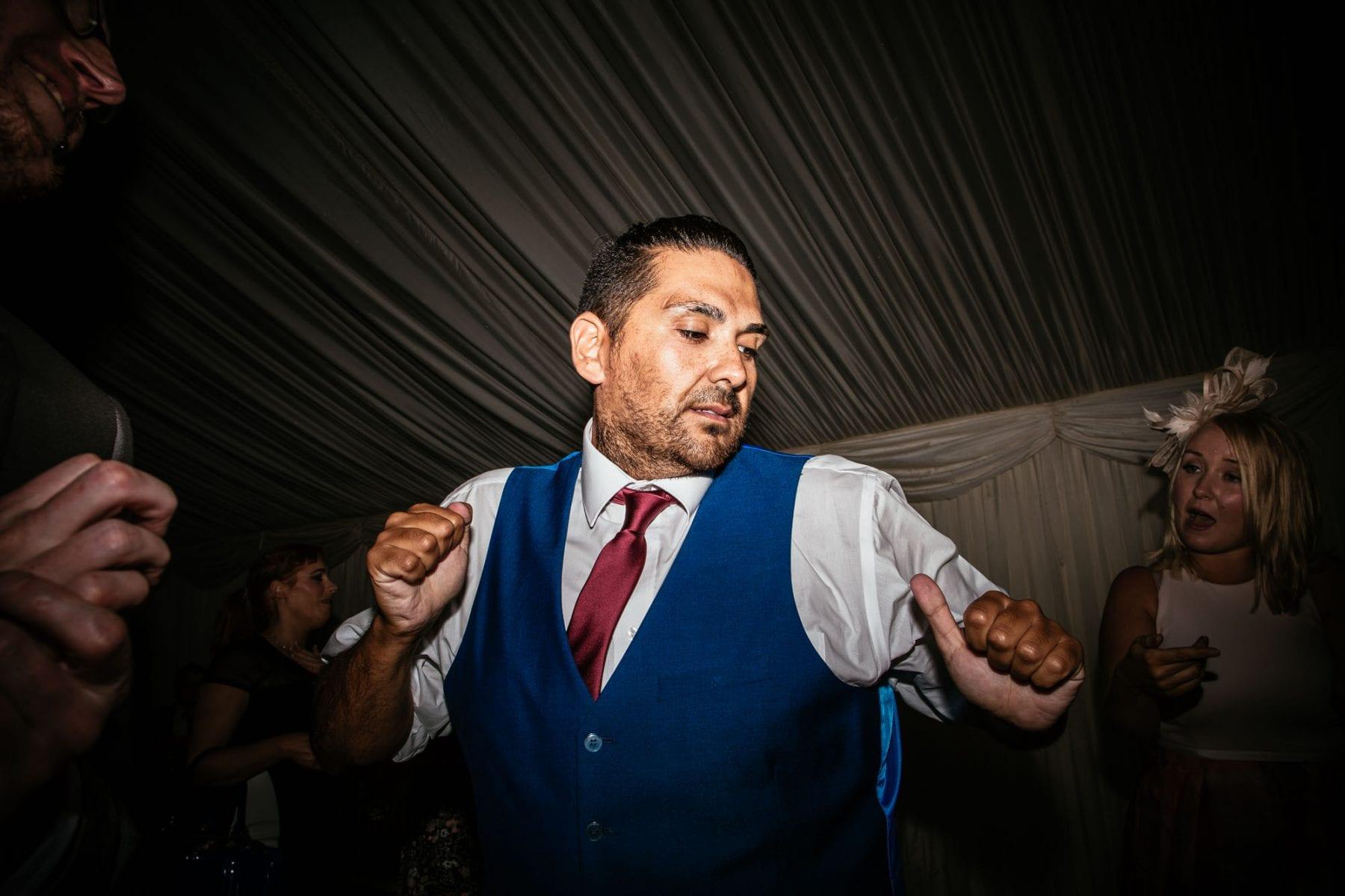 Dancing at Heaton House Farm