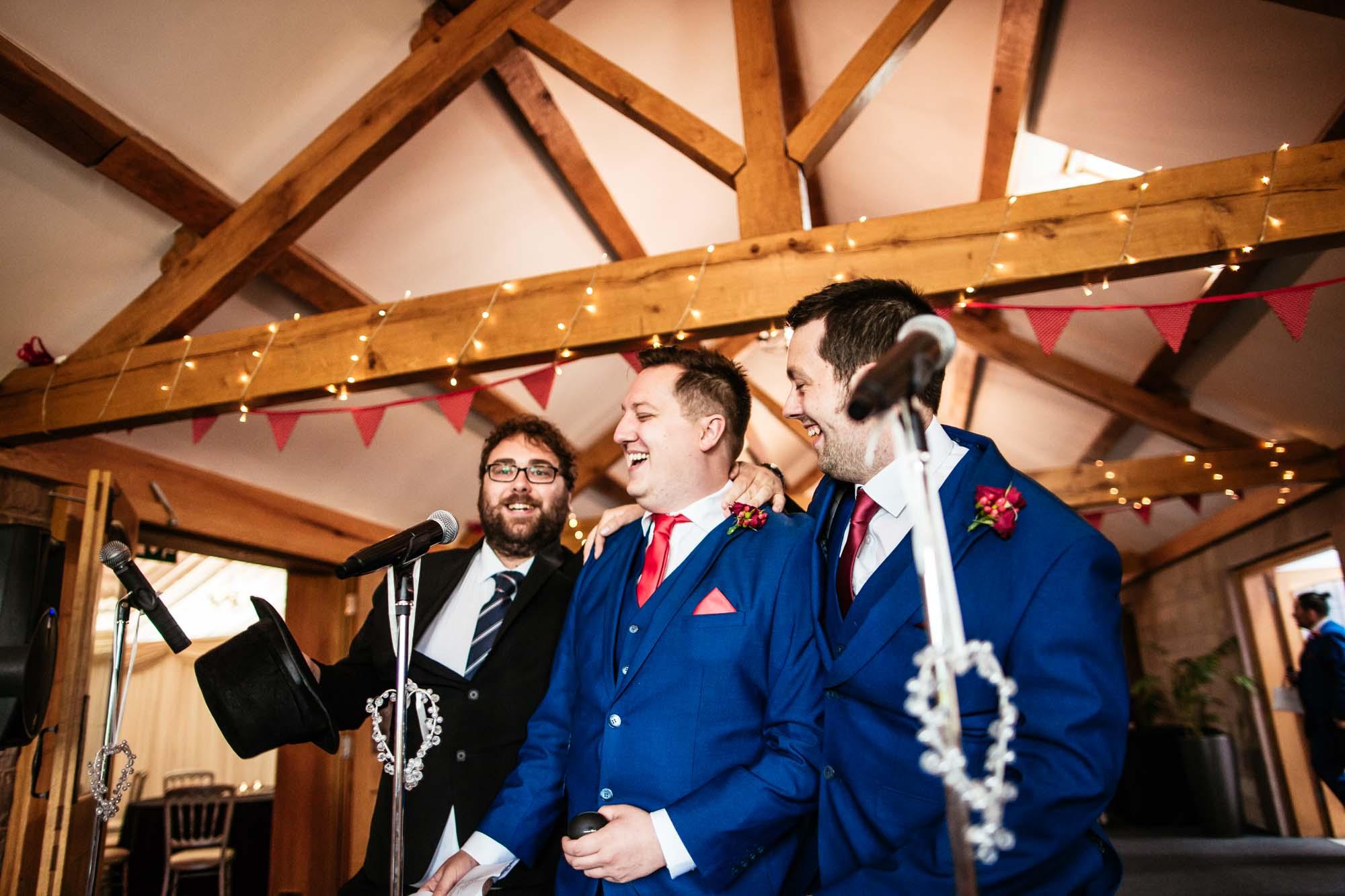 Heaton House Farm Fun Wedding Photographer