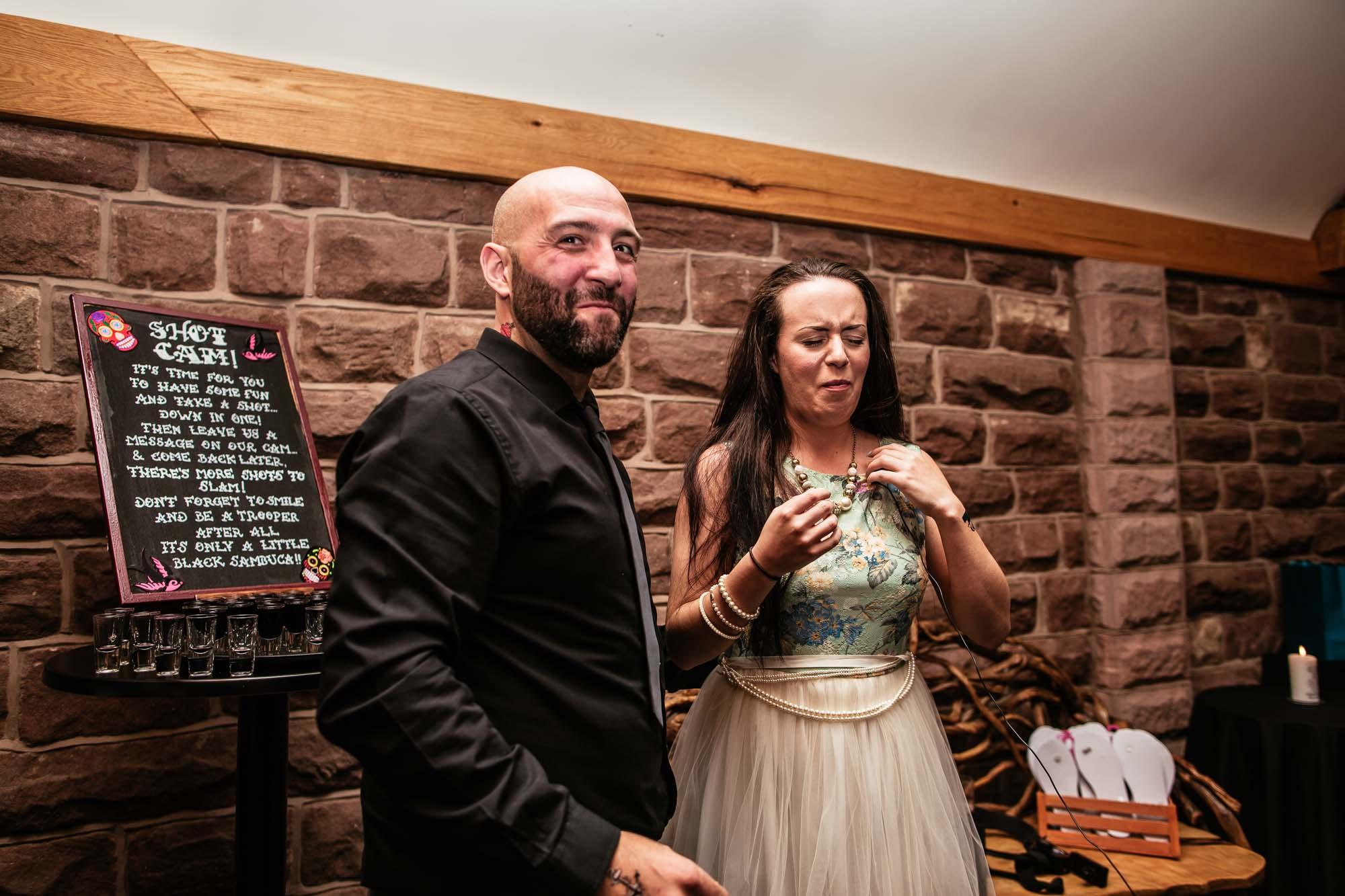Heaton House Farm Macclesfield Wedding Reception