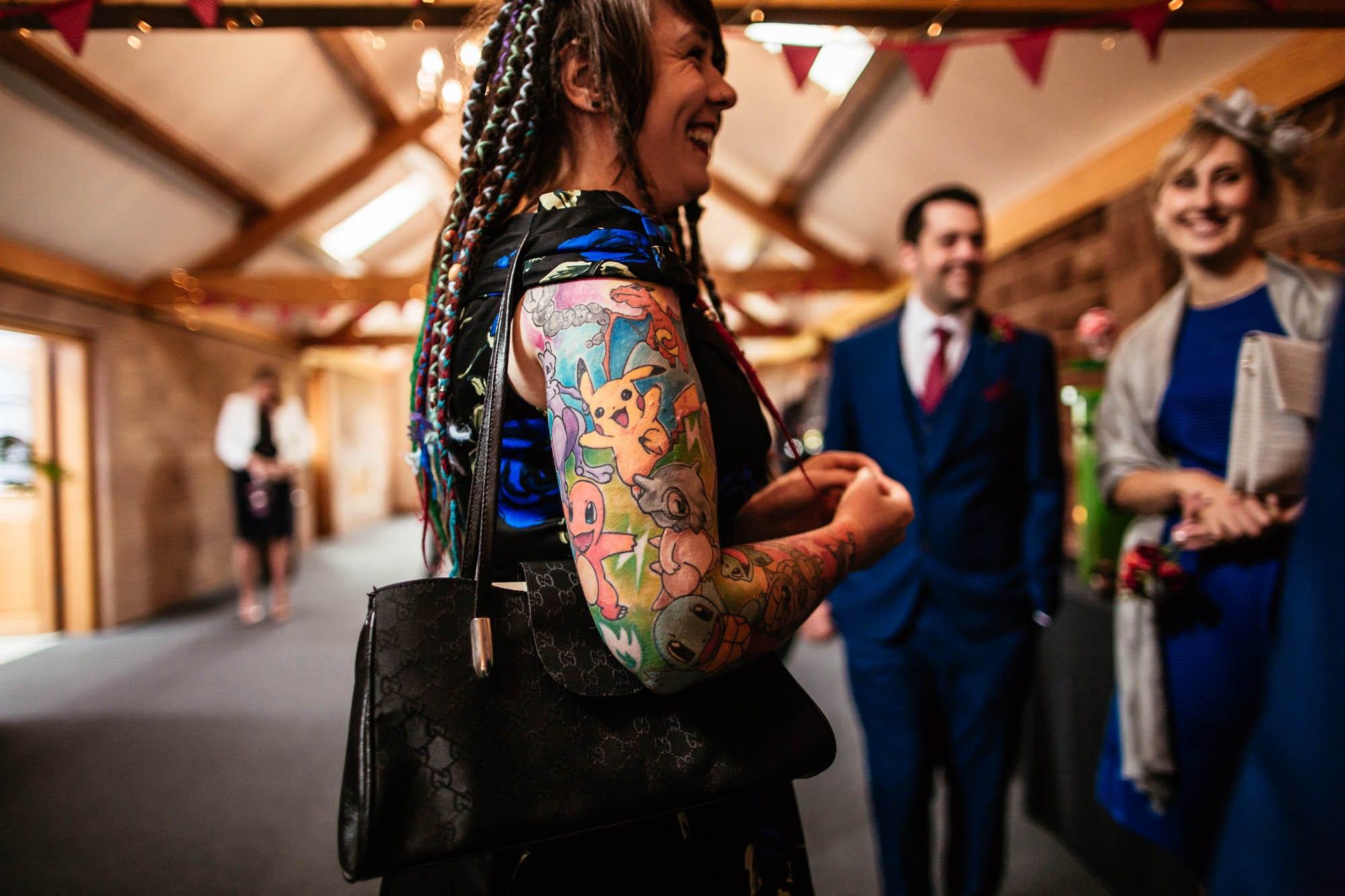 Heaton House Farm Quirky Wedding Photography