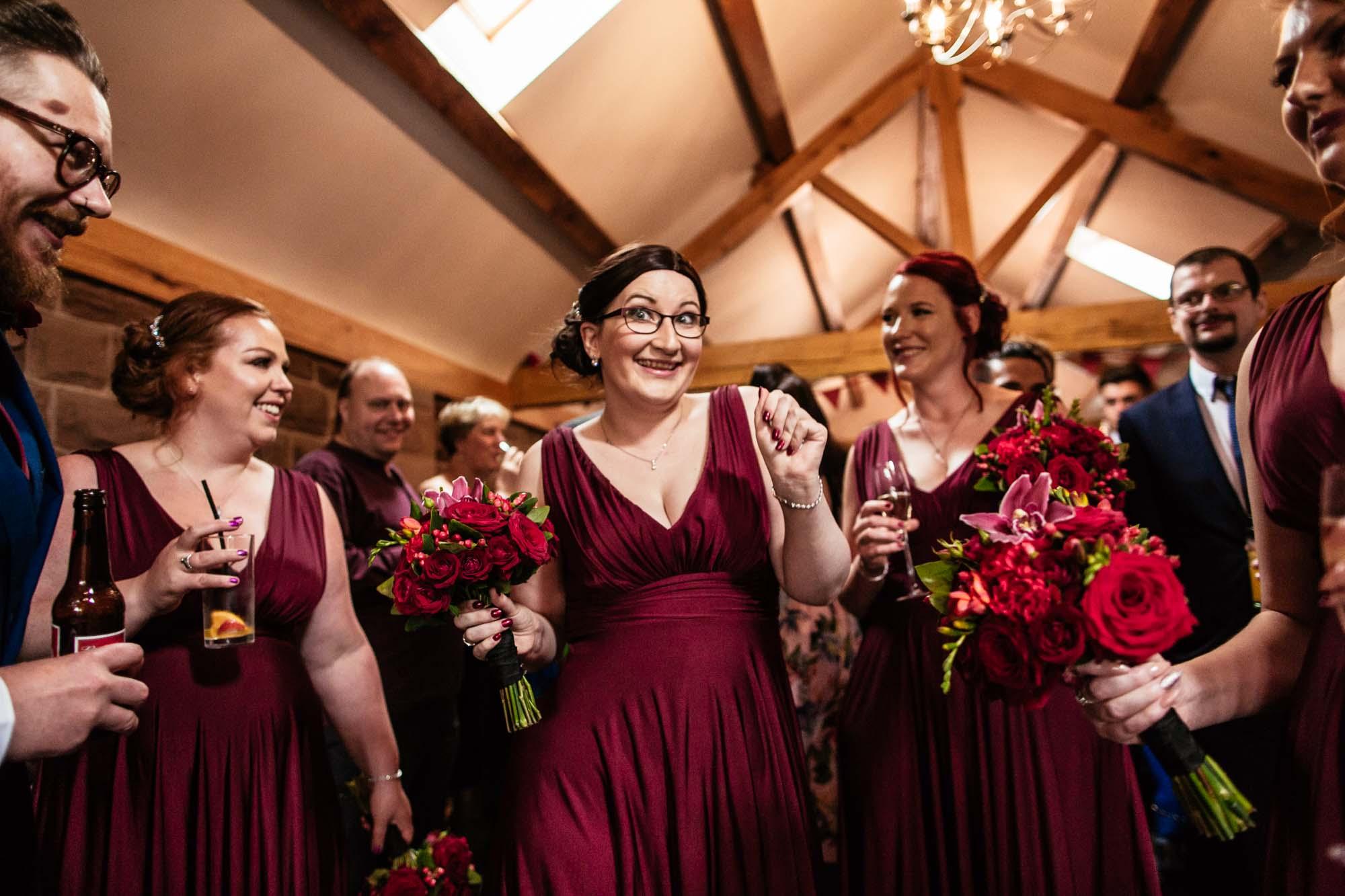 Heaton House Farm Wedding Reception
