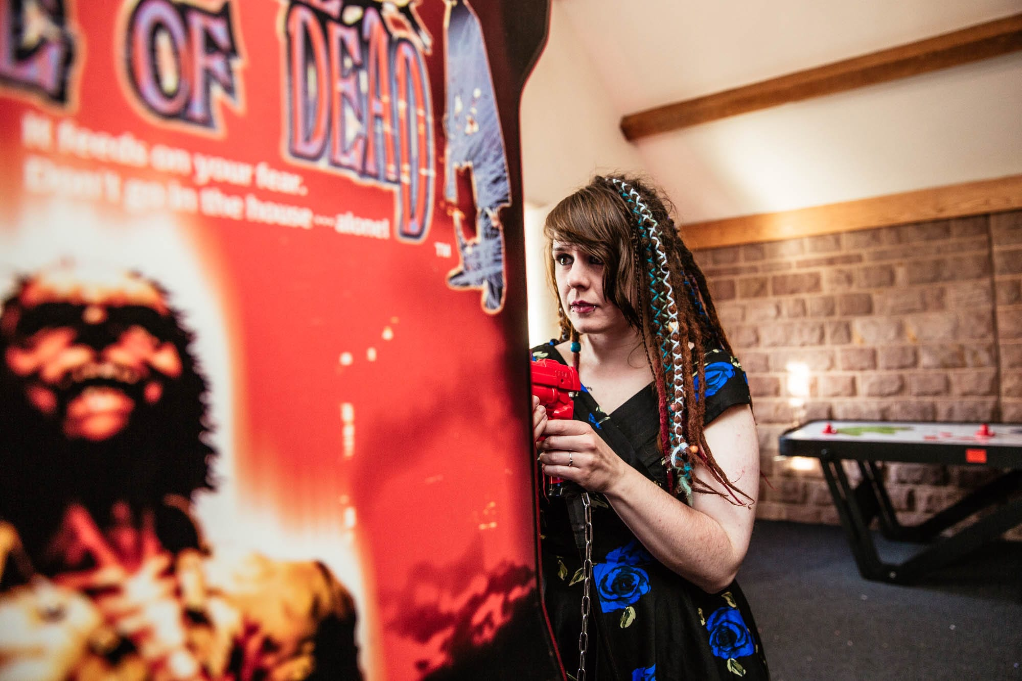House of the Dead Wedding Arcade Game