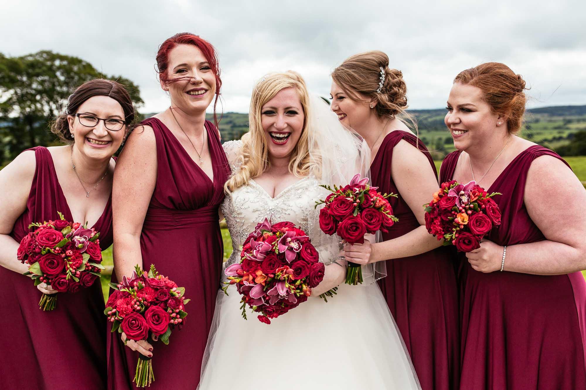 Quirky Wedding Photography Heaton House Farm
