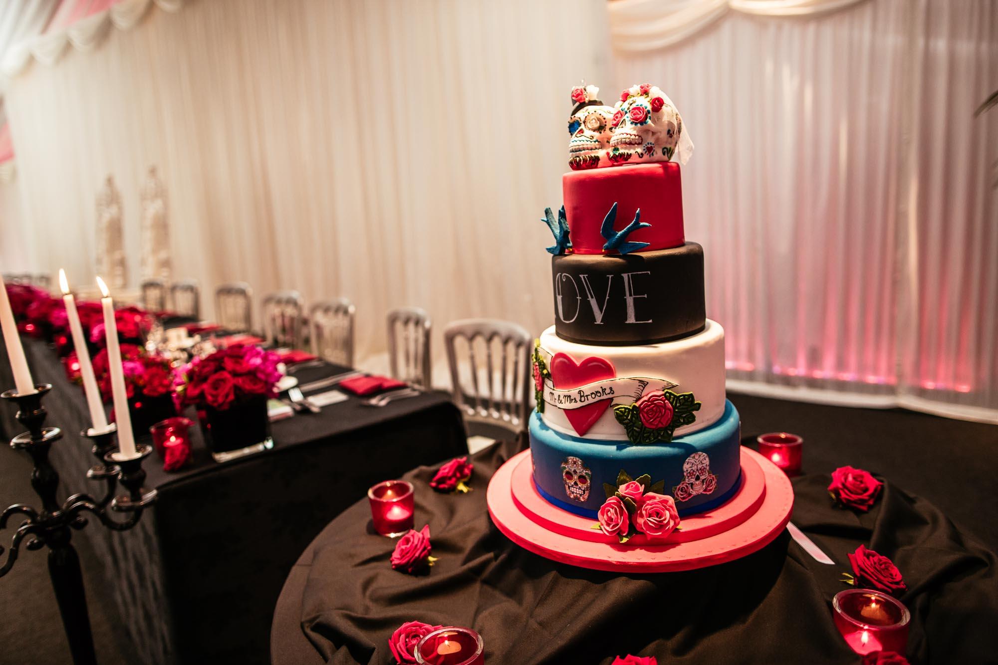 Tattoo Wedding Cake Heaton House Farm