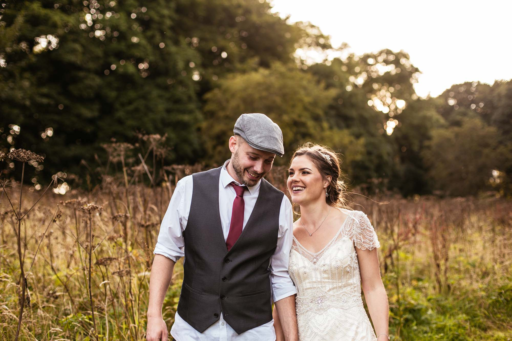 Alternative Wedding Photographer Hargate Hall