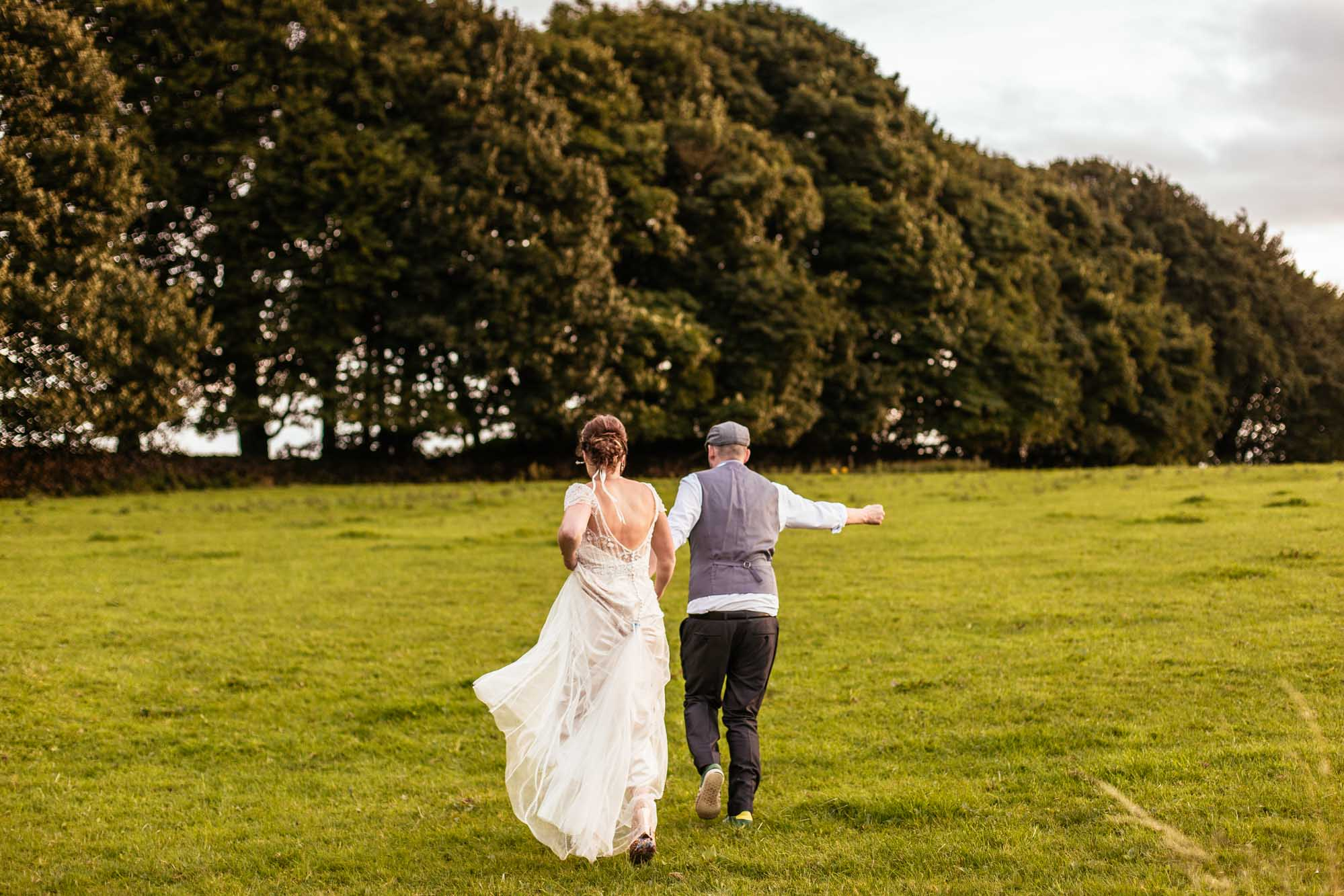 Alternative Wedding Photos Hargate Hall Peak District