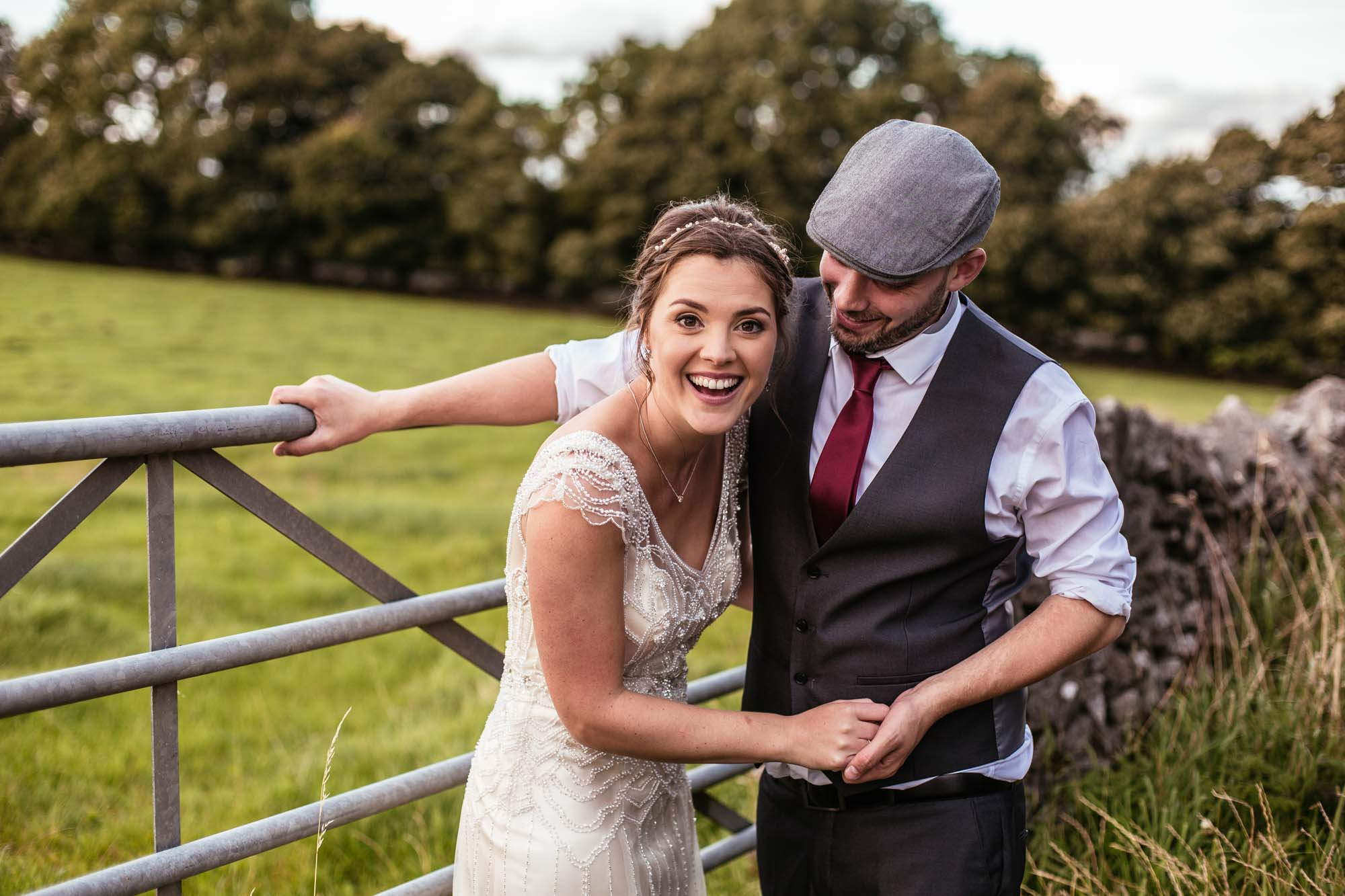 Alternative Wedding Photos Hargate Hall