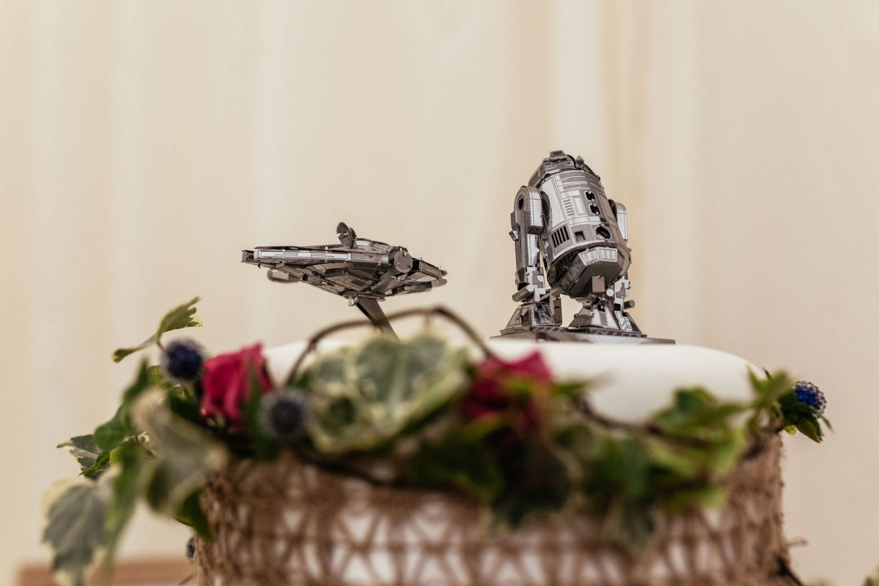 Cake Topper Hargate Hall Wedding Reception