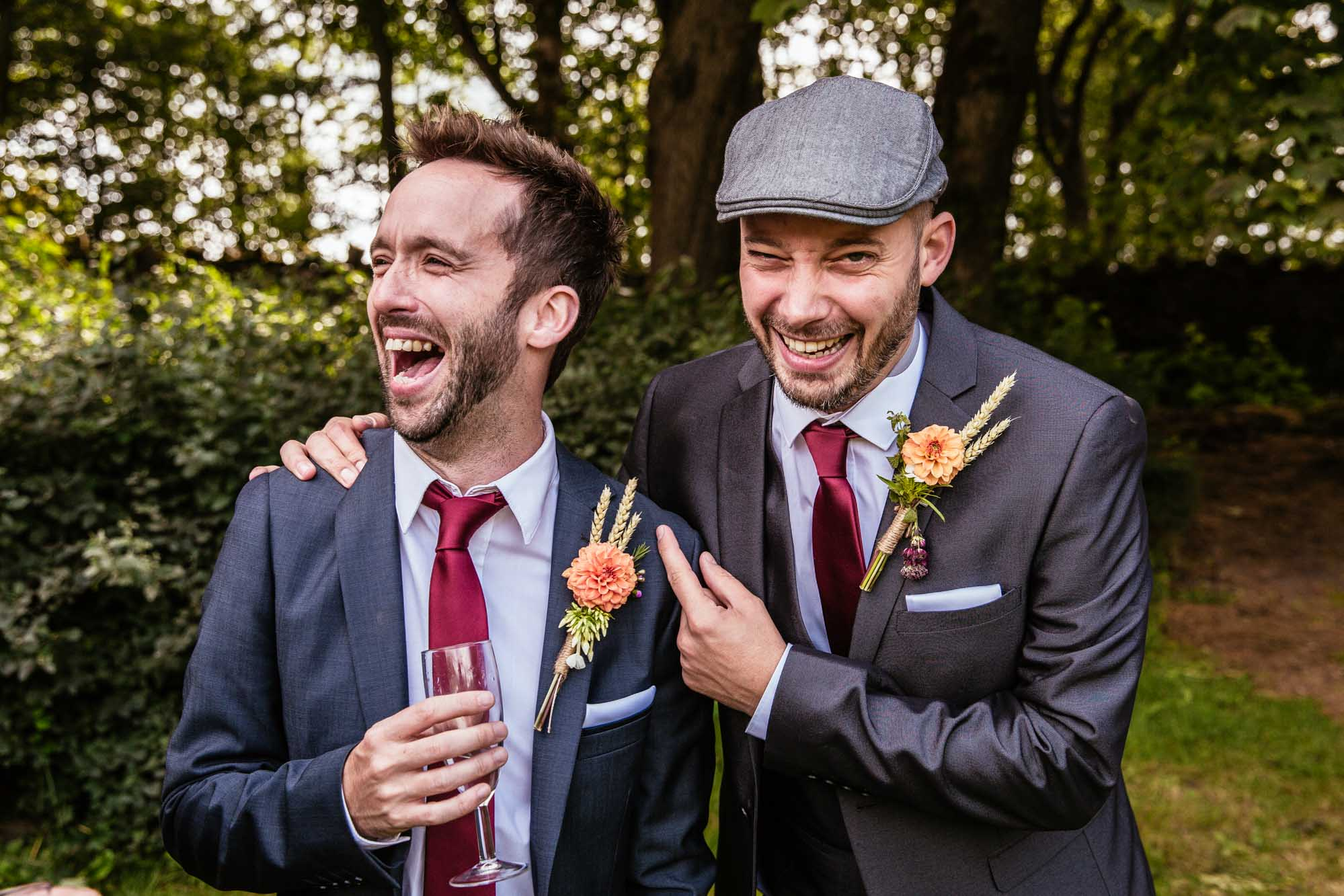 Creative Wedding Photographs Hargate Hall Peak District