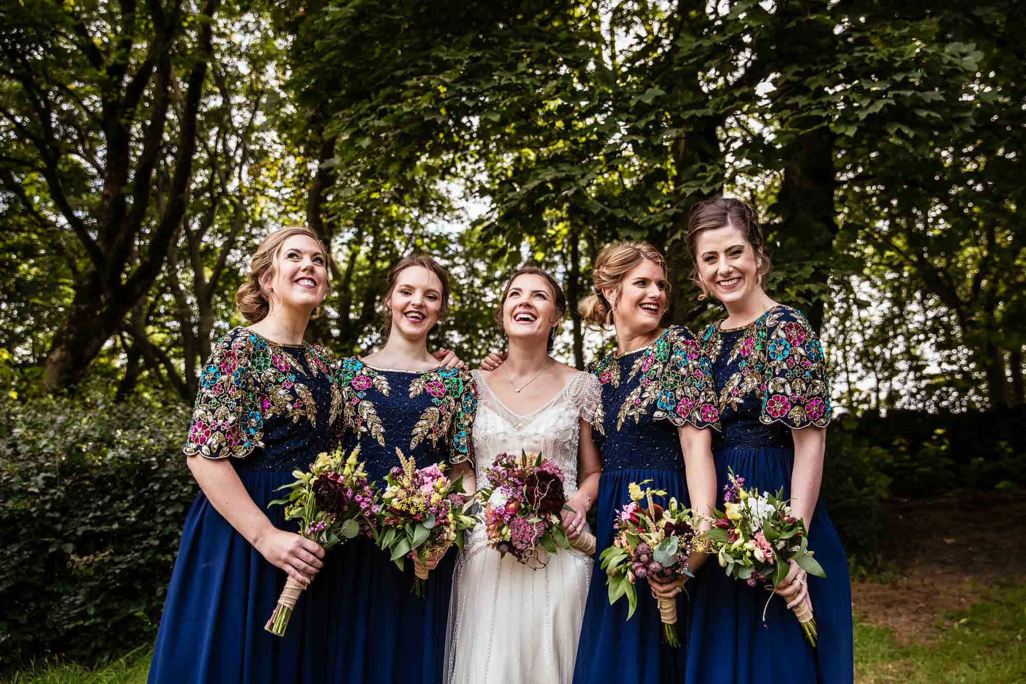 Creative Wedding Photography Hargate Hall Peak District