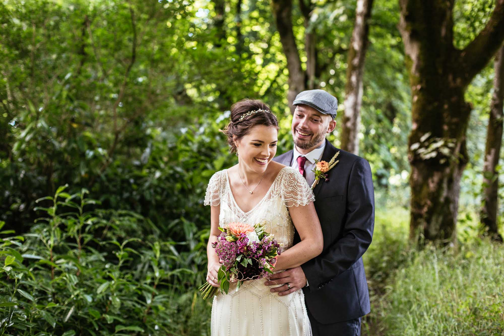 Creative Wedding Photos Hargate Hall