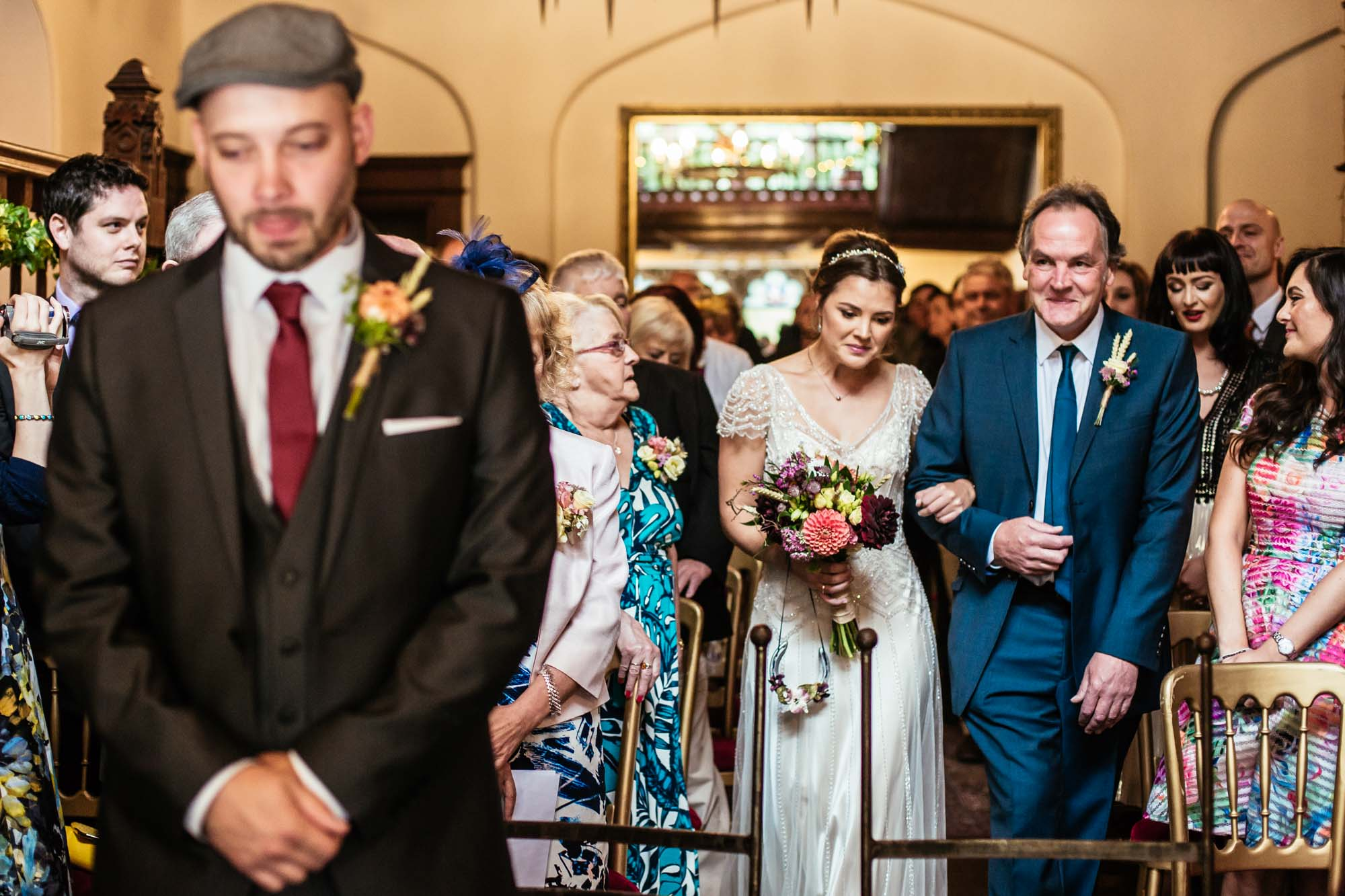 Hargate Hall Wedding Ceremony